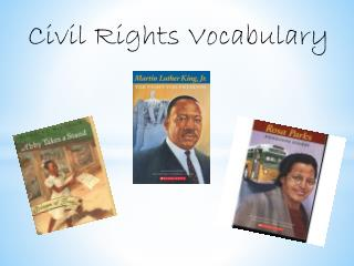 Civil Rights Vocabulary