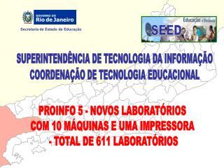 SUPERINTEND NCIA DE TECNOLOGIA DA INFORMA  O COORDENA  O DE TECNOLOGIA EDUCACIONAL