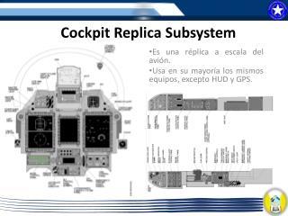 Cockpit Replica  Subsystem