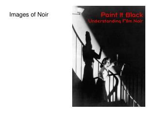 Images of Noir