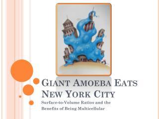 Giant Amoeba Eats New York City