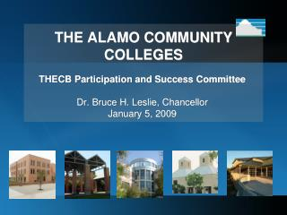 THE ALAMO COMMUNITY COLLEGES