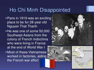 Ho Chi Minh Disappointed