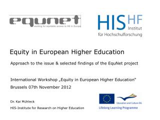 Equity in European Higher Education