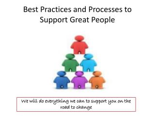 Best Practices and Processes to Support Great People