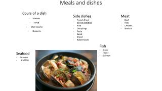 Meals  and  dishes