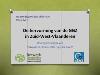 De hervorming van de GGZ  in Zuid-West-Vlaanderen