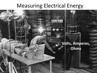 Measuring Electrical Energy