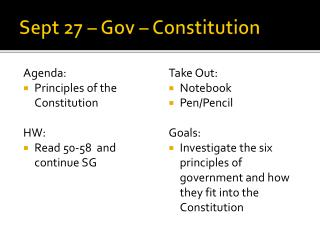 Sept  27  –  Gov  – Constitution