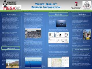 Water  Quality Sensor  Integration