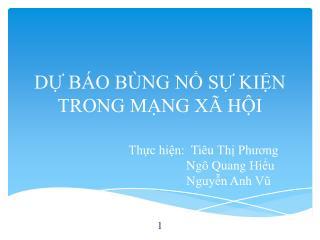 D? B�O B�NG N? S? KI?N TRONG M?NG X� H?I