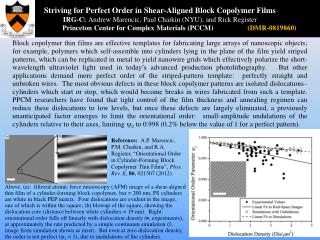 Striving for Perfect Order in Shear-Aligned Block Copolymer Films