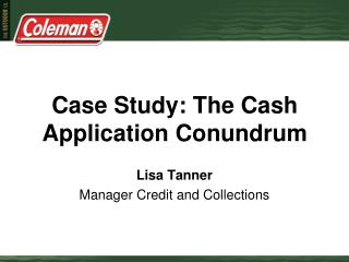 Case Study: The Cash Application Conundrum