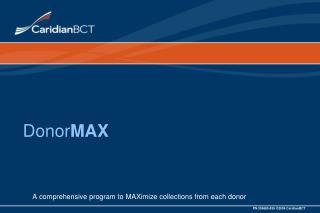 Donor MAX