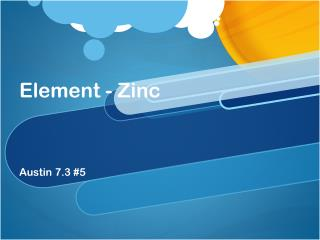 Element - Zinc