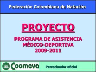 Federaci n Colombiana de Nataci n