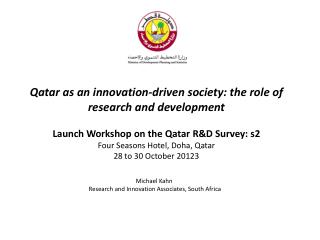 Michael Kahn Research and Innovation Associates, South  Africa
