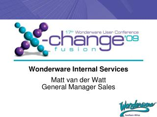 Wonderware Internal Services