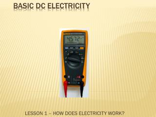 BASIC DC ELECTRICITY