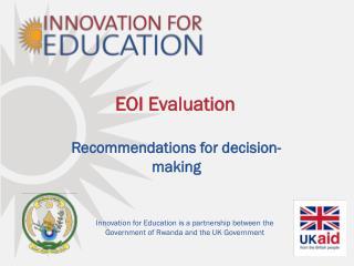 EOI Evaluation