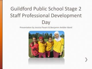 Guildford Public School Stage 2 Staff Professional Development Day