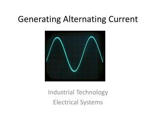 Generating Alternating Current