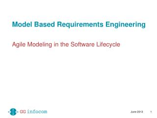 Model Based Requirements Engineering