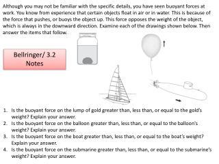 Bellringer/ 3.2 Notes
