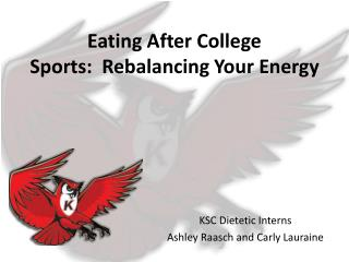 Eating After College Sports: Rebalancing Your Energy