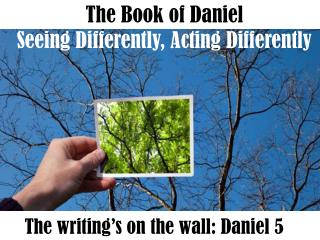 The Book of Daniel Seeing Differently, Acting Differently