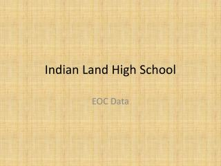 Indian Land High School