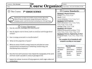 Teacher(s ):   Mrs.  Rowland