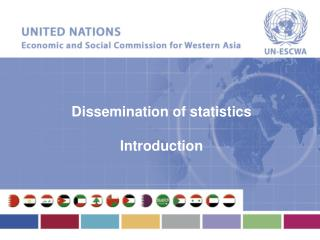 Dissemination of statistics Introduction