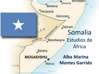 Somalia Estudios de África