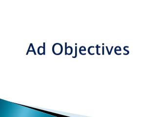 Ad Objectives