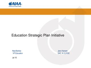 Education Strategic Plan Initiative