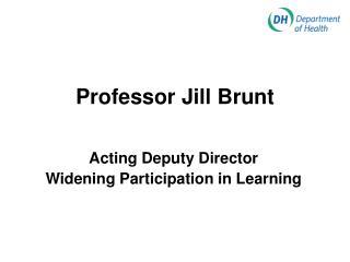 Professor Jill Brunt