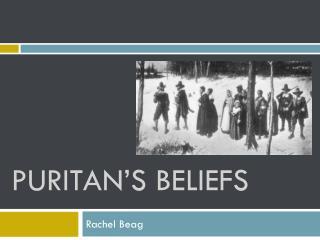 PURITAN'S BELIEFS