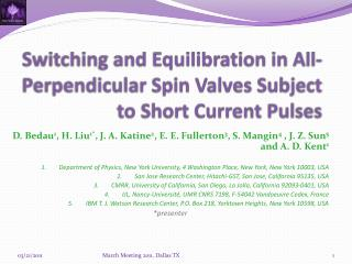 Switching and Equilibration in All-Perpendicular Spin Valves Subject to Short Current Pulses