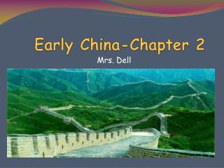 Early China-Chapter 2