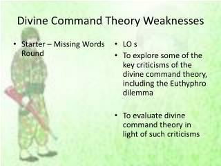 Divine Command Theory Weaknesses