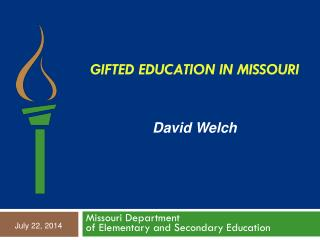 Gifted Education in Missouri