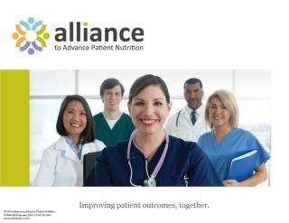 Alliance Malnutrition PowerPoint 2014 v1
