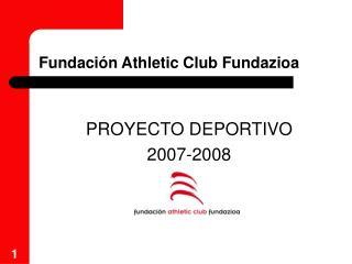 Fundaci n Athletic Club Fundazioa
