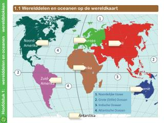 Hoofdstuk 1:    werelddelen en oceanen    wereldblokken