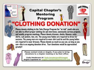 """""""CLOTHING DONATION"""""""