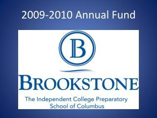 2009-2010 Annual Fund