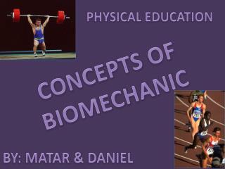 CONCEPTS OF BIOMECHANIC
