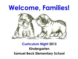 Welcome, Families!