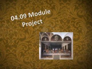 04.09 Module  Project